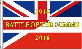 1916 Battle of the Somme World War I Commemorative 100th Anniversary 5'x3' Flag