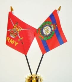 British Army and Corps of Royal Engineers Friendship Table Flag