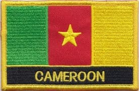 Cameroon Embroidered Rectangular Patch
