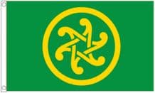 Celtic Nationalist Symbol Polyester Flag