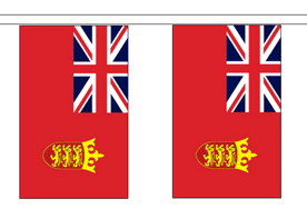 Channel Islands Jersey Red Ensign 10m Flag Bunting