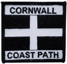 Cornwall Coast Path Embroidered Patch - A531