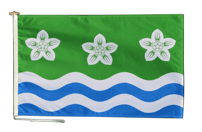 Cumberland Flag With Rope and Toggle - Various Sizes