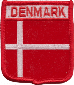 Denmark Embroidered Patch (a111)