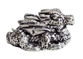 Dragon Small Pewter Ornament - Hand Made In Cornwall