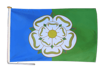 East Riding of Yorkshire Flag With Rope and Toggle - Various Sizes