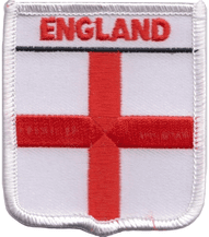 England St George Embroidered Badge (a163)