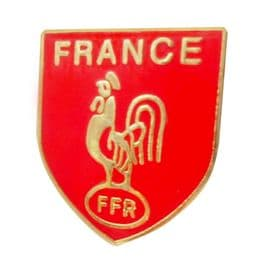 France Rugby Federation Pin Badge (T309)