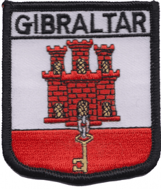 Gibraltar Embroidered Patch (a282)