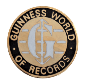Guinness World of Records Pin Badge