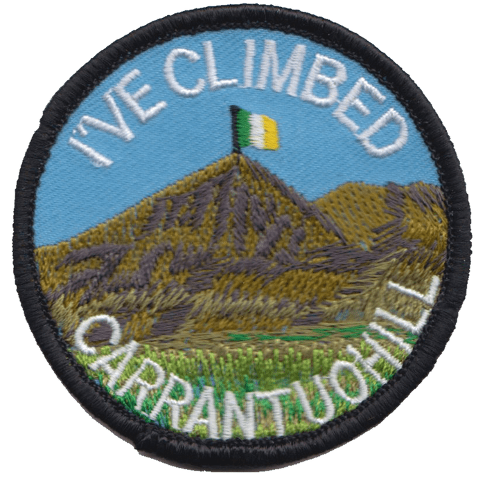 I've Climbed Carrantuohill Ireland Embroidered Patch