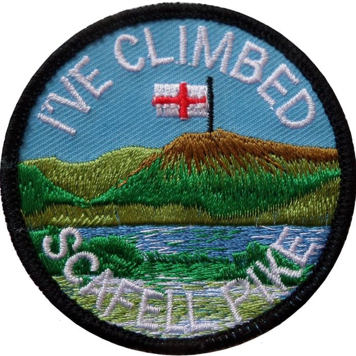 I've Climbed Scafell Pike Embroidered Badge