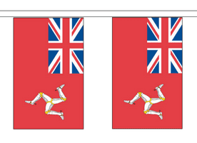 Isle of Man Red Ensign 10m Flag Bunting