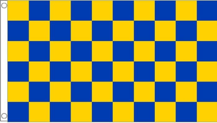 Mansfield Town Check Flag