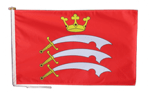 Middlesex Flag With Rope and Toggle - Various Sizes