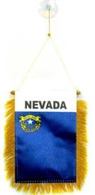 Nevada US State Hanging Car Flag Pennant