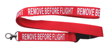 Royal Air Force RAF 'Remove Before Flight' Lanyard