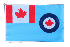 Royal Canadian Air Force Flag With Rope and Toggle - Various Sizes