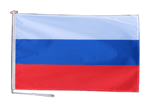 Russia Federation Russia Flag With Rope and Toggle - Various Sizes