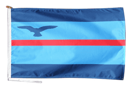 Squadron Leader Command Flag With Rope and Toggle - Various Sizes