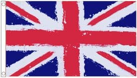 Union Jack Graffiti Paint Design Polyester Flag OUT OF STOCK