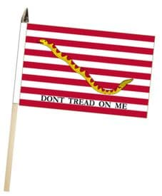 United States of America USA First Navy Jack Large Hand Waving Flag