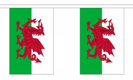 Wales GIANT Flag 18m Bunting