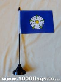 Yorkshire County Civil Table Flag