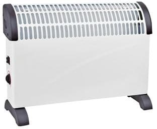2kW Convector Heater with 3 Heat Settings, Free Standing