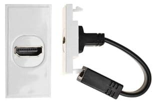 ANTIFERENCE MW760  Module Hdmi With Fly Lead Wht