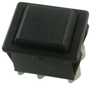 ARCOLECTRIC C1572ATAAA  Switch Dpdt 16A 250Vac Black