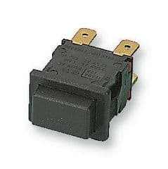 ARCOLECTRIC H8351ABAAA  Switch Push Dpst Momentary Black