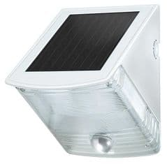 BRENNENSTUHL 1170870  Solar Led Wall Lamp Ip44 With Pir Gy/Wh