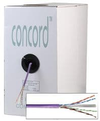 CONCORDIA TECHNOLOGIES CAT6ULCAVI305  Cable Category 6 U-Utp Lszh Violet 305M