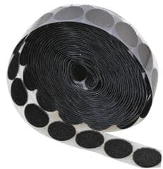 CONCORDIA TECHNOLOGIES VECL22MMBLK5M  Coins Loop 22Mm  Black 200 / Roll