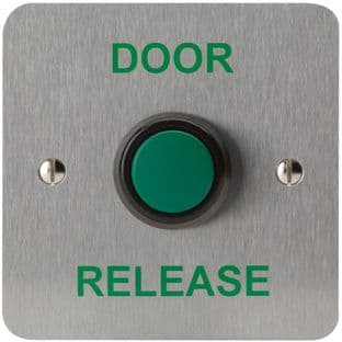DEFENDER SECURITY DEF-0656-1  Raised Green Exit Button