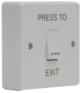 DEFENDER SECURITY DEF-0664  Exit Switch 1 Gang + Surface Box