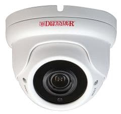 DEFENDER SECURITY DFR17  Camera Dome 1080P Hd Hybrid Ip66 Vf Wht
