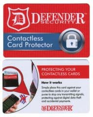DEFENDER SECURITY DG-BLOCK-IT-CARD-CPC  Contactless Rfid Card Protector