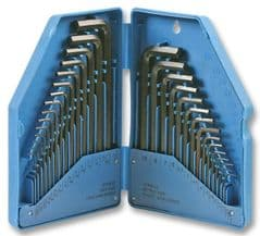 DURATOOL D00207  Hex Key Set 30Pce