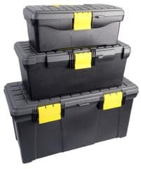 DURATOOL D00412  3-In-1 Tool Box Set