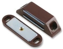 DURATOOL D00847  Magnetic Catch Large Brown (Pk10)