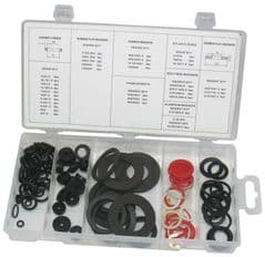 DURATOOL D01890  Tap Washer Kit 125Pc