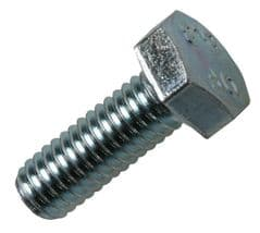 DURATOOL D01986  M6X60Mm Set Screw (Bolt) Stainless Pk10