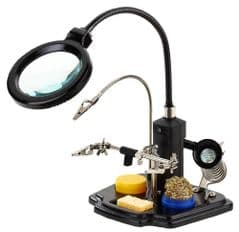 DURATOOL D03169  Led Magnifying Lamp With Third Hand