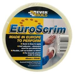 EVERBUILD 2EURO48  Jointing Tape,Plasterboard 90Mx48Mm