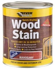 EVERBUILD WSTAINSMAH02  Wood Stain Mahogany 250Ml