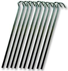 HIGHLANDER CS022  Wire Steel Peg (18Cm) 10 Pack