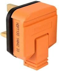 PERMAPLUG HDPT13ORG  Rubber Plug - 13A/Orange