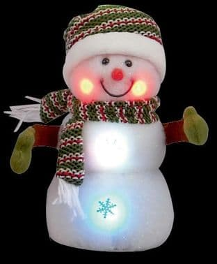 PREMIER LB121577  Snowman Battery Operated 23Cm